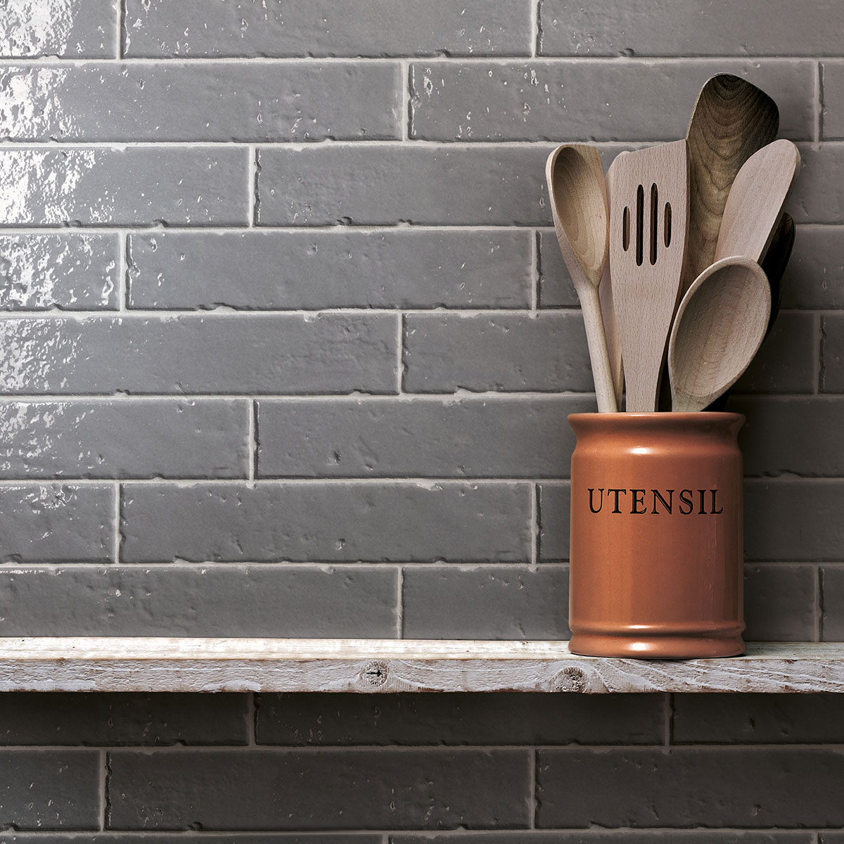 Brickart - gloss - clay - subway tile - Stone3 Brisbane