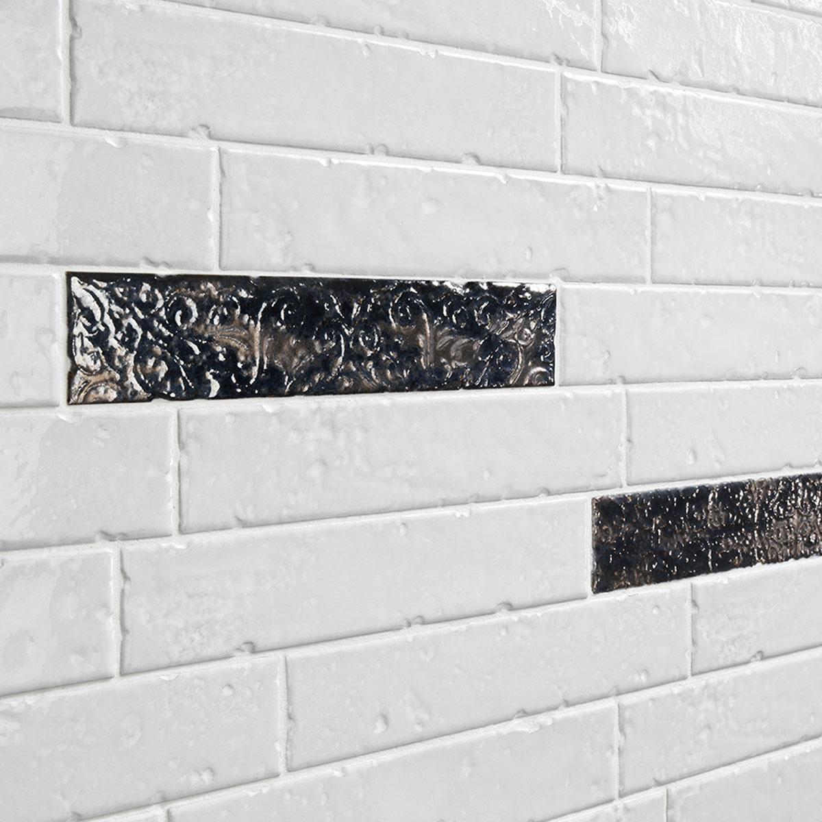 Brickart - gloss - full white - subway tile - Stone3 Brisbane
