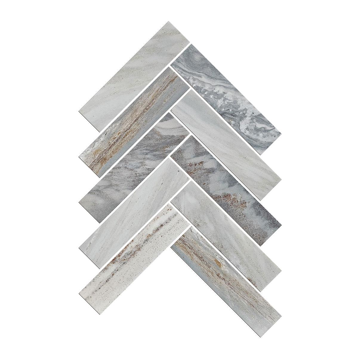 Artemis - Blue Sandstone - Herringbone - Marble Tiles - Stone3 Brisbane