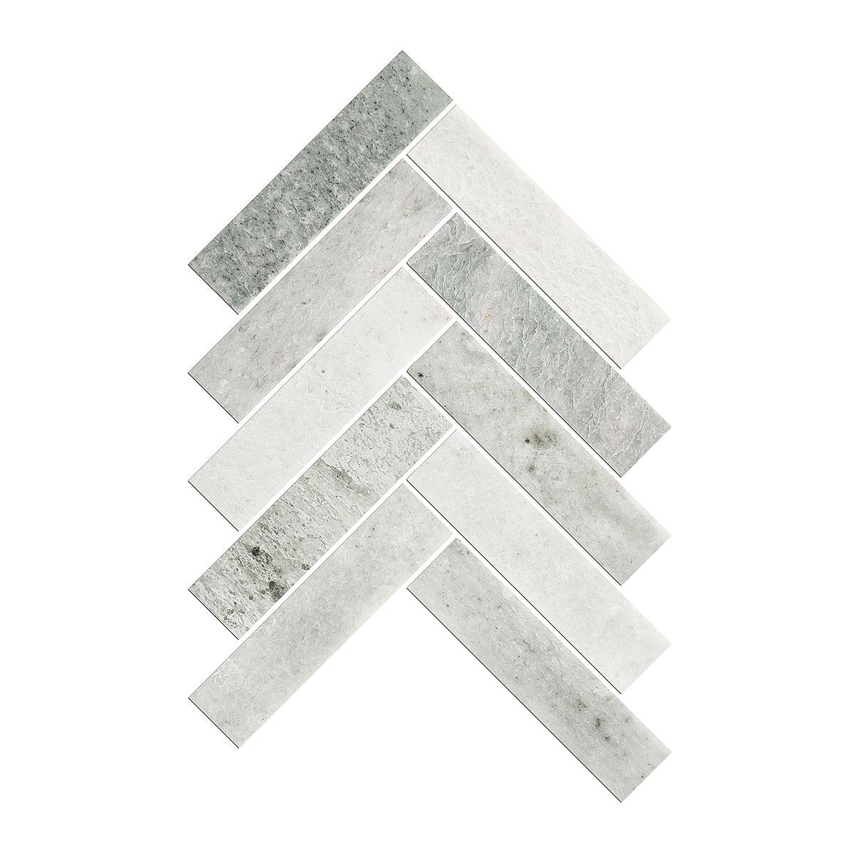 Artemis - Ming Green - Herringbone - Marble Tiles - Stone3 Brisbane