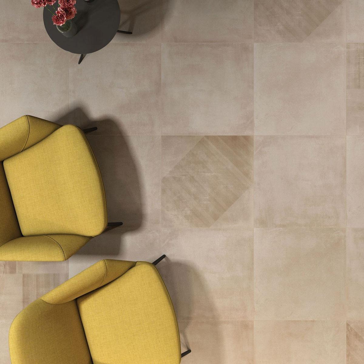Basic Concrete - Beige - Concrete Look Tiles - Stone3 Brisbane