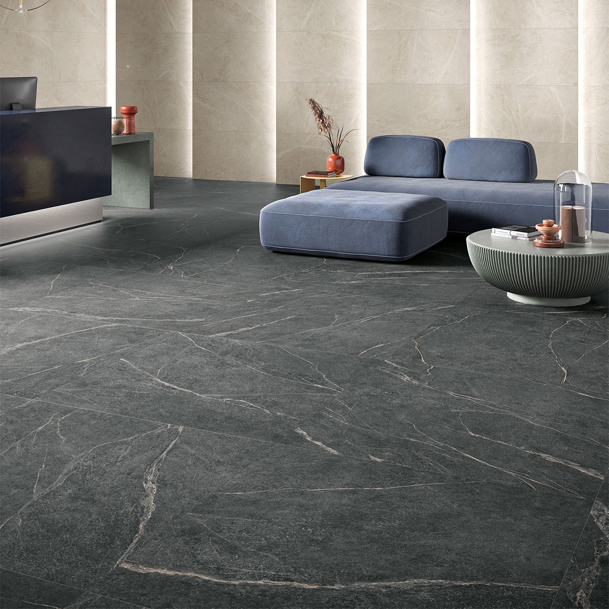 Soap Stone - Black - Marble Look Tiles - Stone3 Brisbane