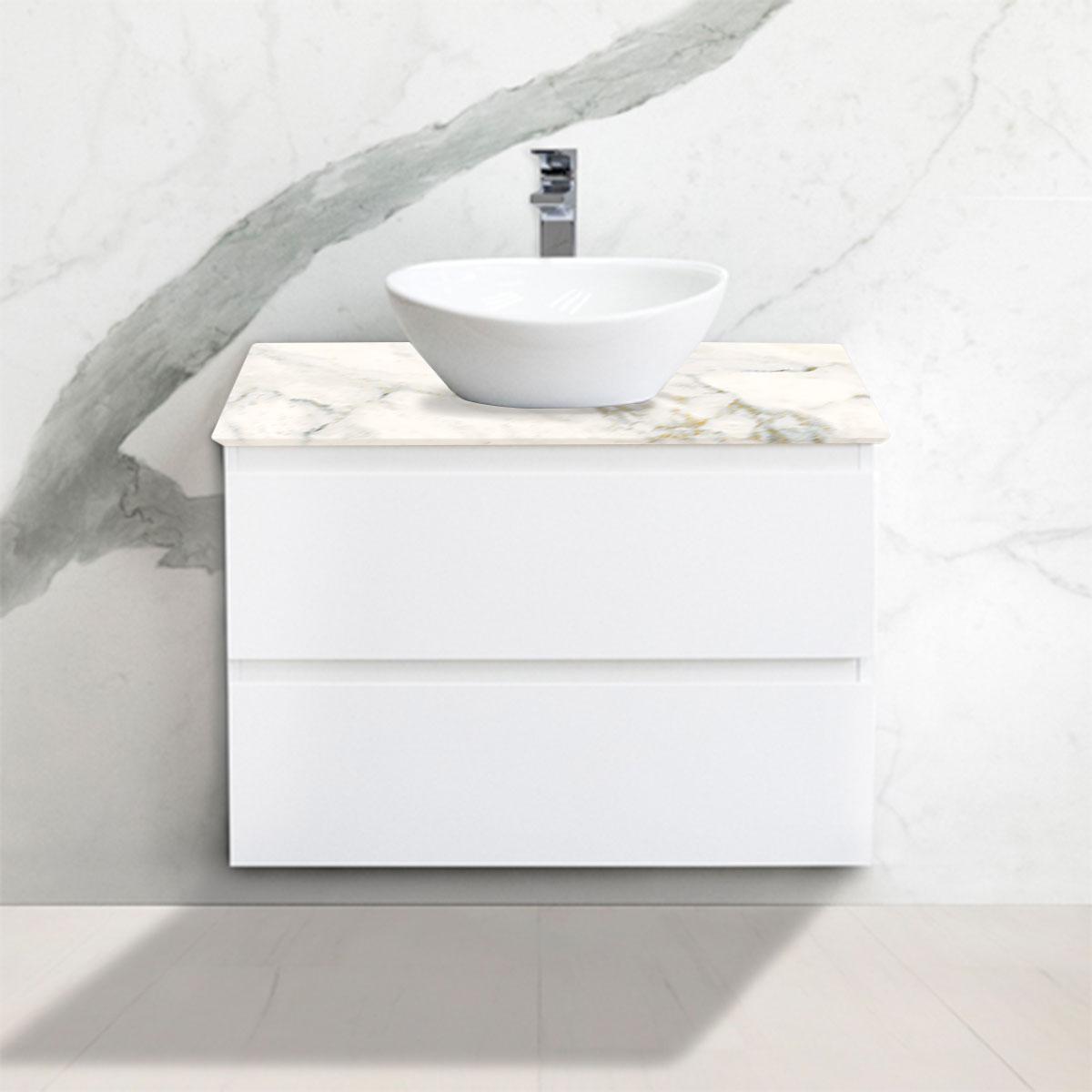 Cabinet - Vanity- 2 Drawers - Ballet - Stone3 Brisbane