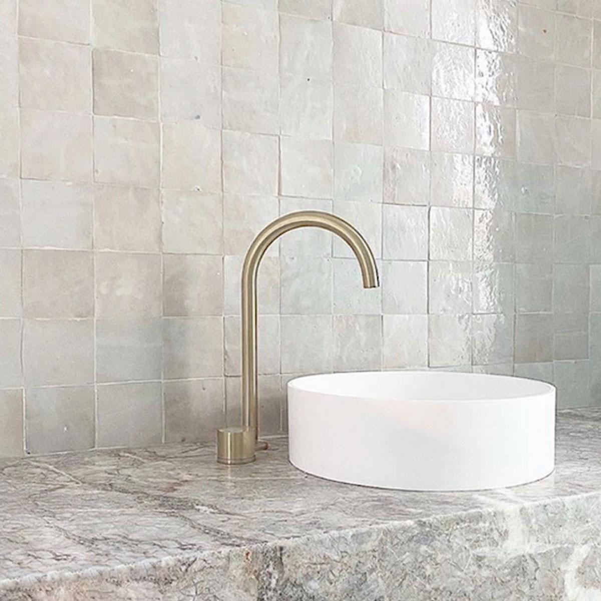 Clay Zellige - Bianca Casa - Moroccan feature tiles - Stone3 Brisbane