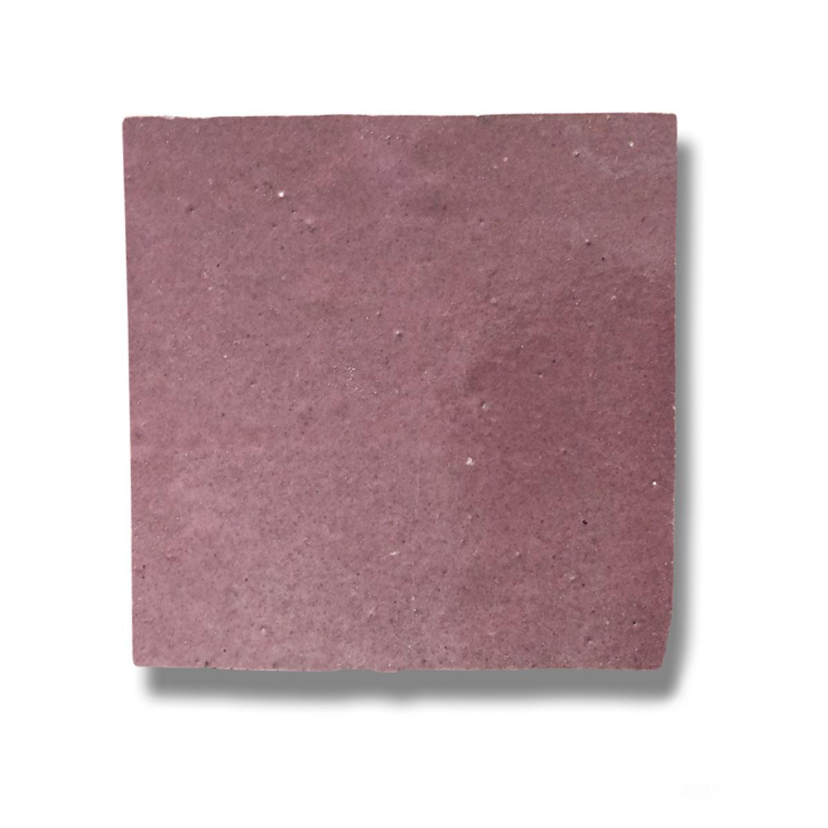 Clay Zellige - Cerise - Moroccan feature tiles - Stone3 Brisbane