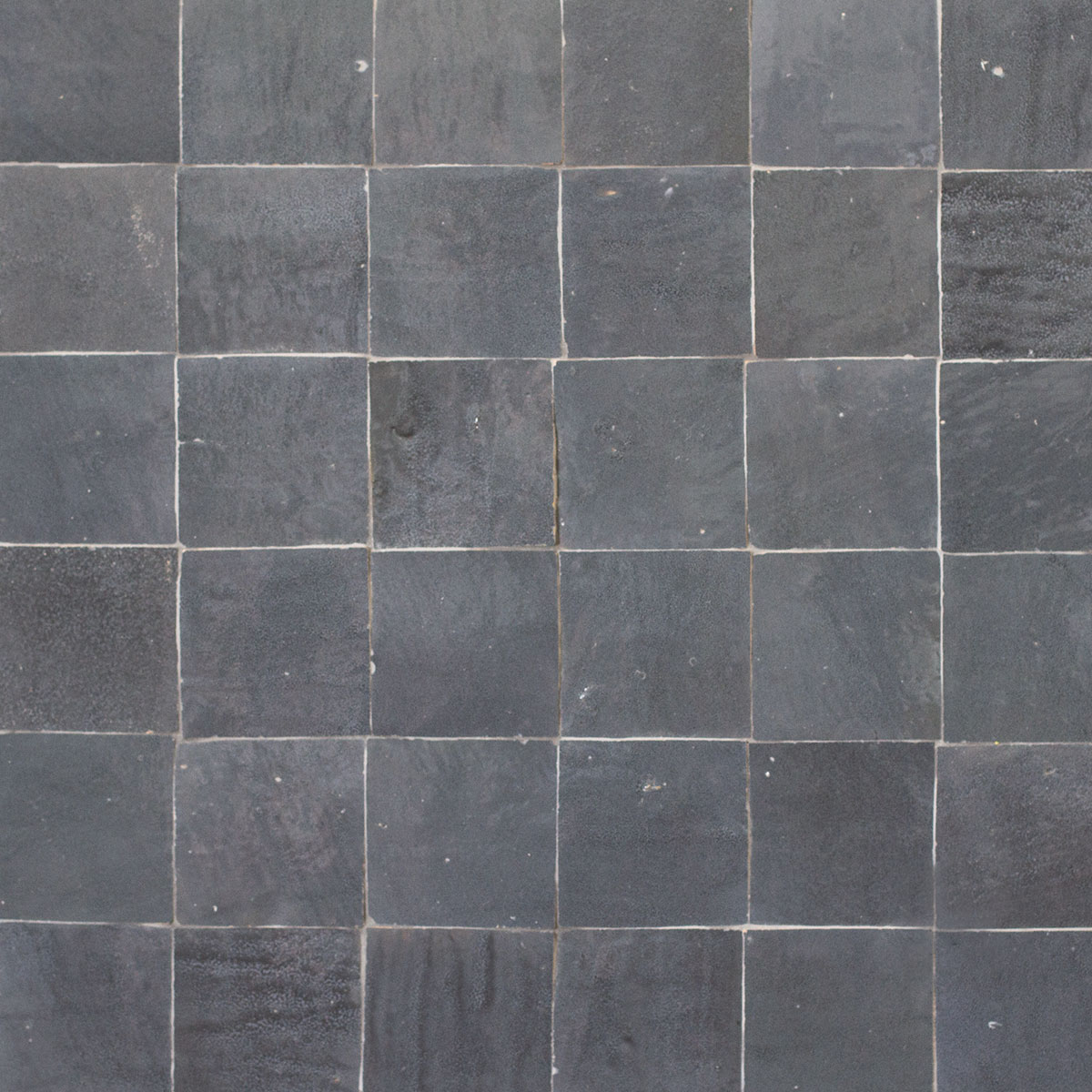 Clay Zellige - Charcoal - Moroccan feature tiles - Stone3 Brisbane