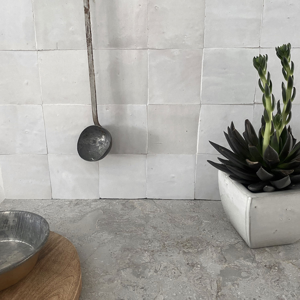 Clay Zellige - Lily - Moroccan feature tiles - Stone3 Brisbane