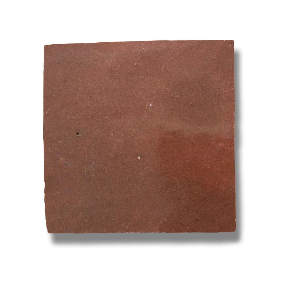 Clay Zellige - Rust - Moroccan feature tiles - Stone3 Brisbane
