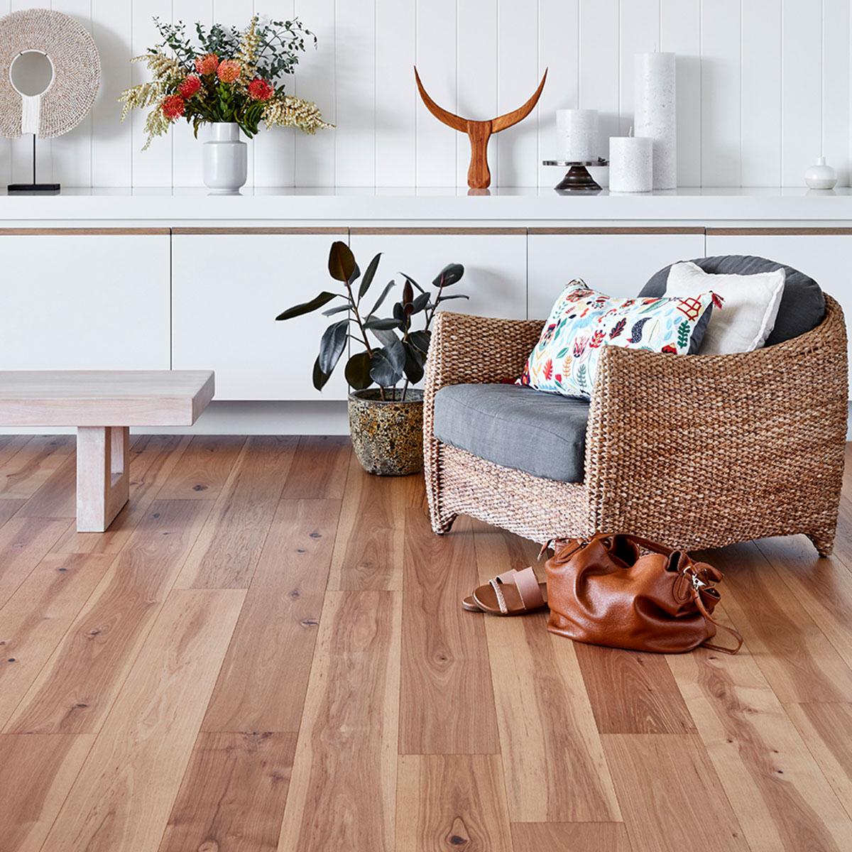 Elk Falls - Hickory Timber Flooring - Natural - Stone3 Brisbane