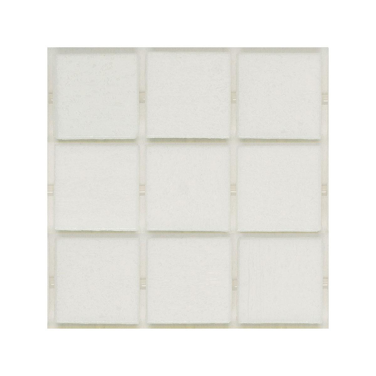Vitreo - 160 white - mosaic feature pool tiles - Stone3 Brisbane