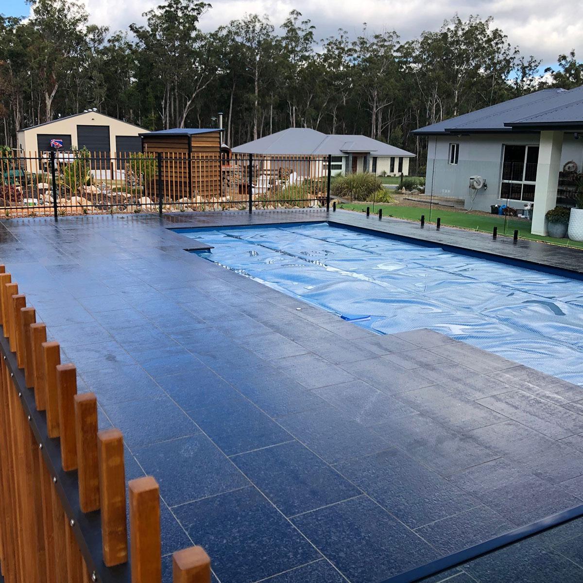 Granite - Black Daisha - Natural Stone Tiles - Stone3 Brisbane